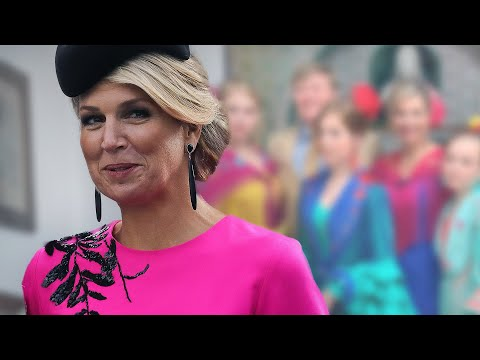 Máxima der Niederlande: Hola! Bunte Weihnachtsgrüße in Flamenco-Kleidern