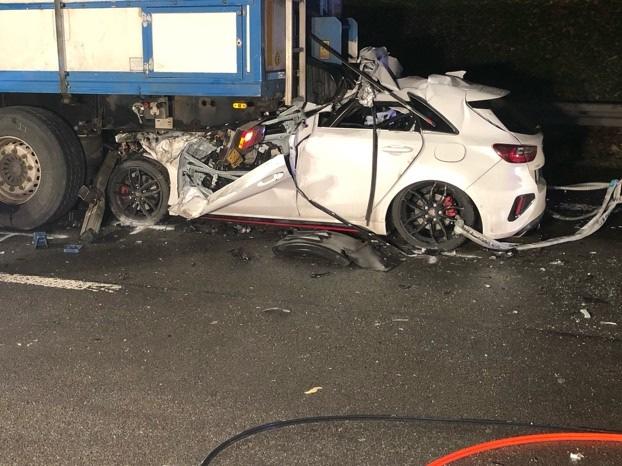 Unfall am Stauende auf A2:  29-Jähriger verstirbt an Unfallstelle
