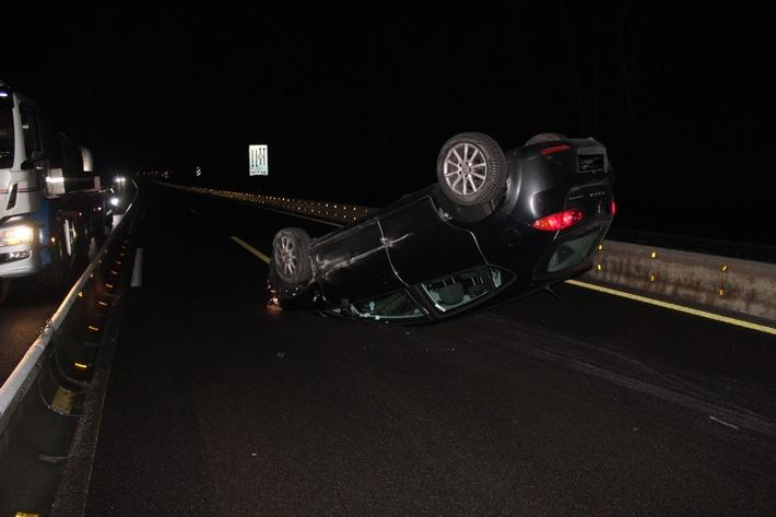 A6: Verkehrsunfall mit verletzter Person