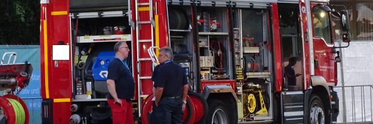 Saarland: Brandstiftung in Mehrparteienhaus