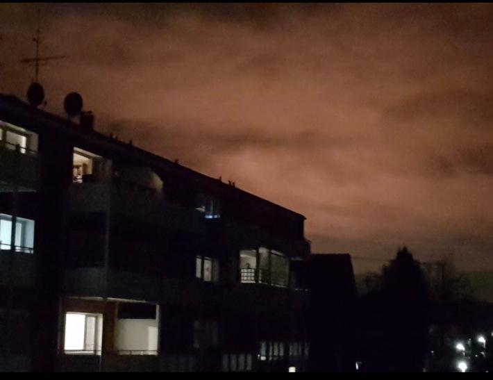 NRW: Vermeintlicher Rauch- Raffinerie fackelte Gas ab