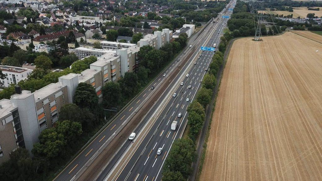 Lärm ohne Pause: Leben an der Autobahn