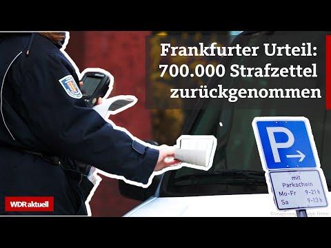 Ungültige Knöllchen in Frankfurt: Betrifft das auch NRW?