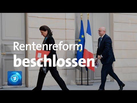 Französische Regierung beschließt Rentenreform