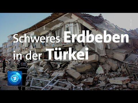 Türkei: Tote nach Erdbeben