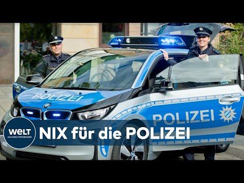 POLIZEI IN BAYERN: Elektroauto als Streifenwagen – Die Bilanz fällt ernüchternd aus