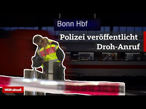 Bomben-Alarm in Bonn: Bahnhof zum dritten Mal gesperrt