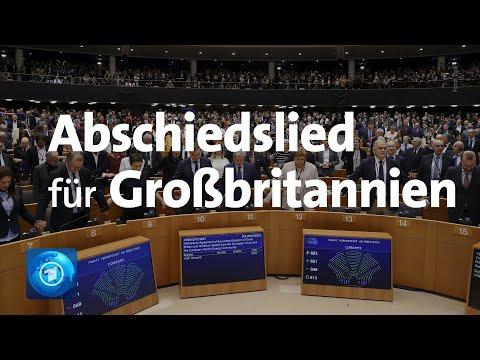 EU-Parlament ratifiziert Brexit-Vertrag