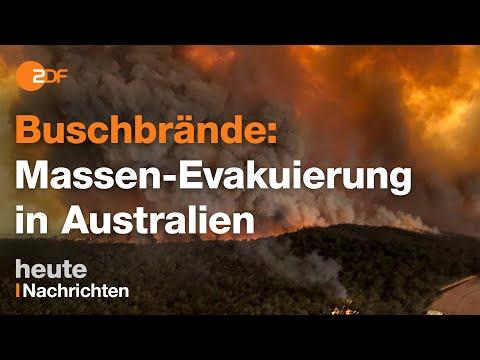 Buschbrände in Australien: Militär hilft eingeschlossenen Menschen