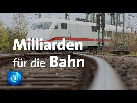 Milliarden-Investitionen bei der Bahn