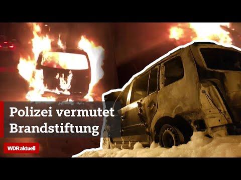 Brandserie: 15 Autos gehen in Flammen auf