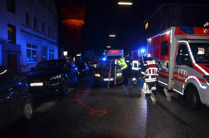 Bremerhaven: 4 Verletzte bei Verkehrsunfall