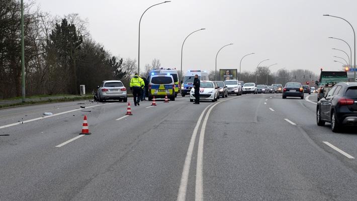Bremerhaven: Vier Verletzte bei Verkehrsunfall