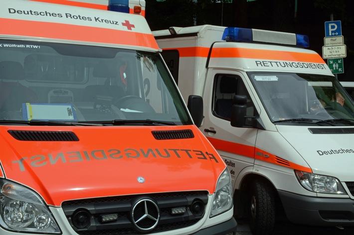 NRW: 40-jähriger Fußgänger bei Verkehrsunfall schwer verletzt