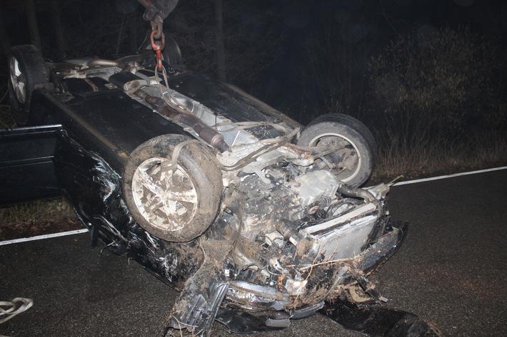 K39: Mehrere Verletzte bei Verkehrsunfall