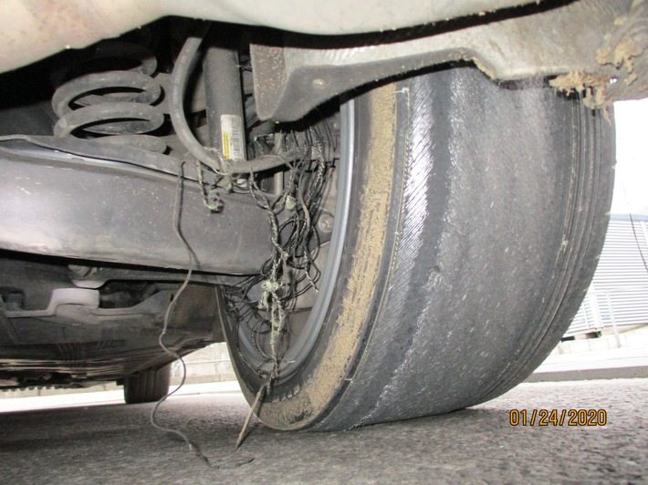 Mit 69km durch 30-er Zone: Mercedes Benz und Führerschein sichergestellt