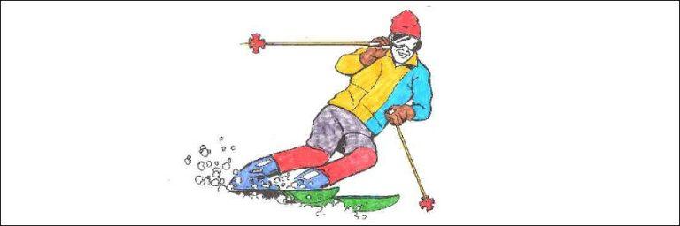 Skiunfall: Verursacherin entfernte sich