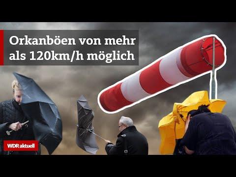 Heftiger Sturm: NRW bereitet sich auf Sturmtief Sabine vor
