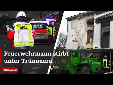 Gasexplosion während Feuerwehr-Großeinsatz: Mehrere Schwerverletzte und ein Toter