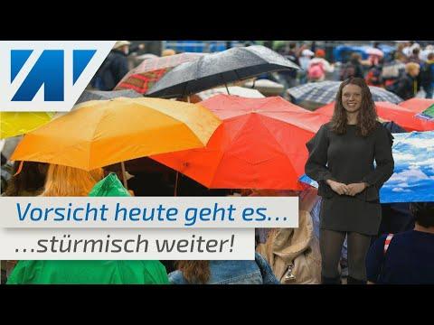 Vorsicht! Heute neuer Sturm über Deutschland!