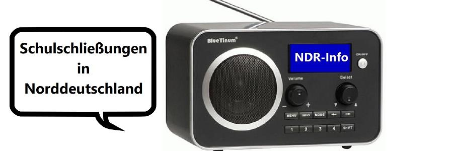 Schulschließungen in Norddeutschland: NDR erweitert sein Radioangebot für Schülerinnen und Schüler