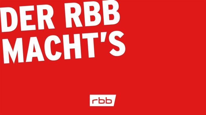 """""""DER RBB MACHT'S"""" bringt Konzerte, Opern, Theater und Museen nach Hause"""