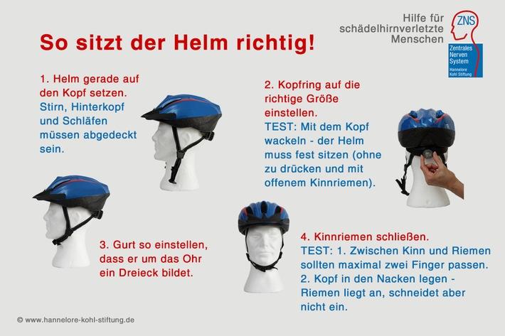 Ein Helm kann Leben retten