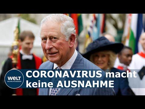 PRINZ CHARLES COVID-19 POSITIV: Thronfolger habe nur milde Corona-Symptome