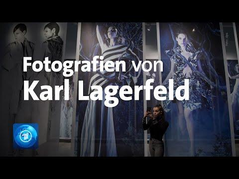 Fotografien von Karl Lagerfeld in Halle