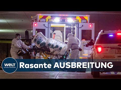 CORONAVIRUS AUS CHINA: Mehr als 100 000 Covid-19-Infizierte weltweit – 795 in Deutschland