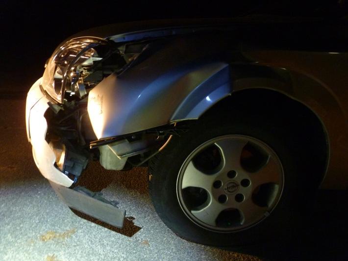 Bremerhaven: Autofahrer flüchtet nach Verkehrsunfall