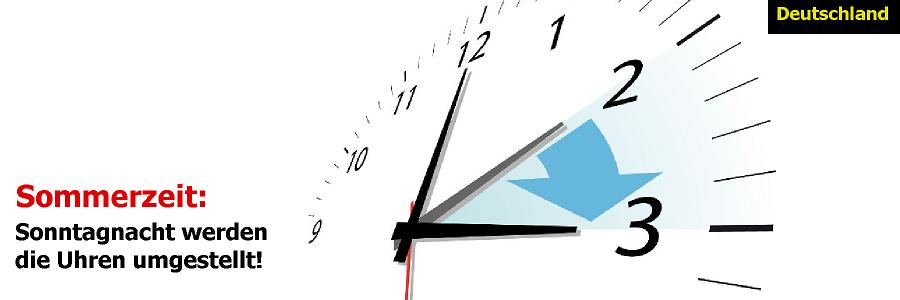 Sommerzeit: Der Sonntag hat wieder nur 23 Stunden