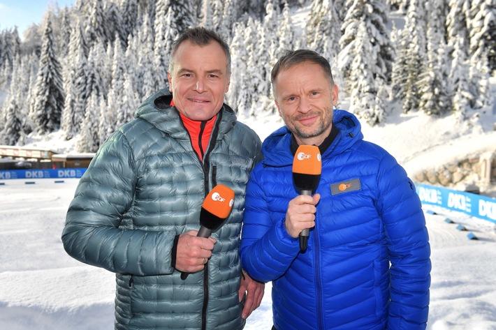 Wintersport live von Donnerstag bis Sonntag im ZDF
