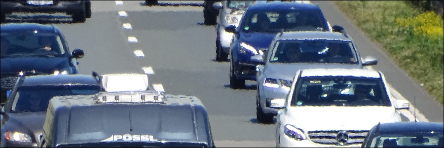 A43: Verkehrsunfall mit zwei Verletzten und kurzzeitig gesperrt