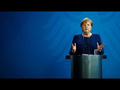 Kanzlerin Merkel: Beschränkungen bleiben auf jeden Fall bis 19. April