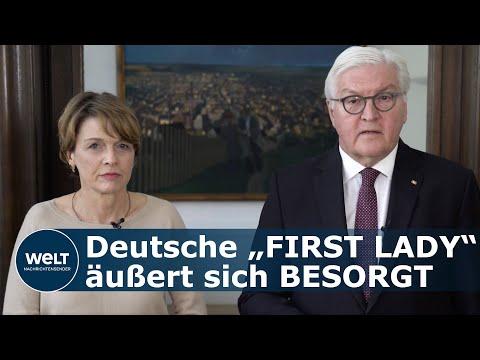 Steinmeier und seine Frau – Aufruf zur gemeinschaftlichen Hilfe