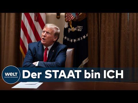 """CORONA UND TORNADOS: """"Kein König"""" – US-Gouverneur bestreitet Trumps """"allumfassende Macht"""""""