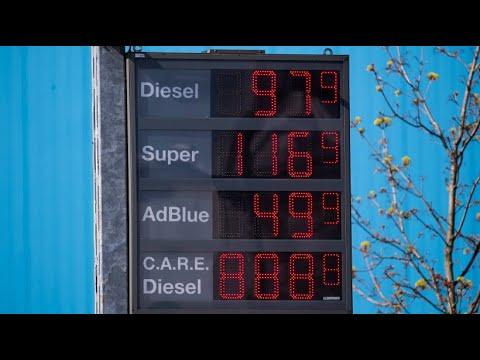 Diesel- und Benzinpreise wegen Corona-Pandemie im Keller