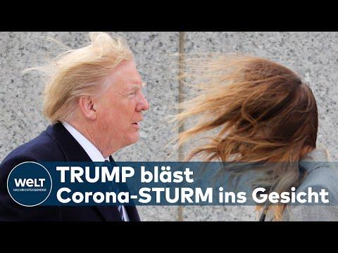 CORONAVIRUS IN DEN USA: Donald Trump hat jetzt ein gigantisches Problem