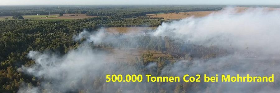 Moorbrand im Emsland verursachte mehr als 500.000 Tonnen CO2