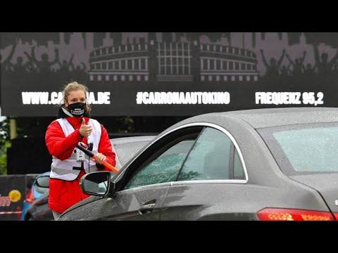 "Neues Autokino ""Carrona"": Filmabend trotz Abstandsregeln in Berlin"