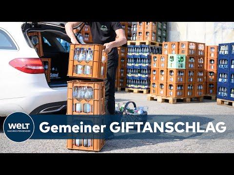 SCHOCK IN MÜNCHEN: Erfrischungsgetränke im Supermarkt mit Lösungsmittel vergiftet