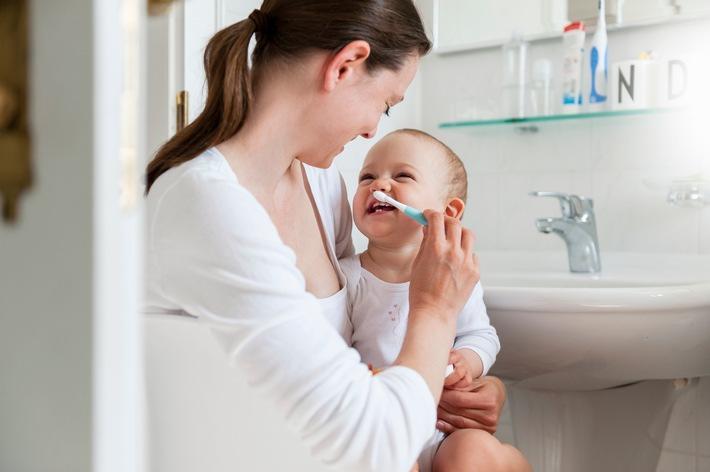 So gelingt die tägliche Zahnpflege bei Kindern