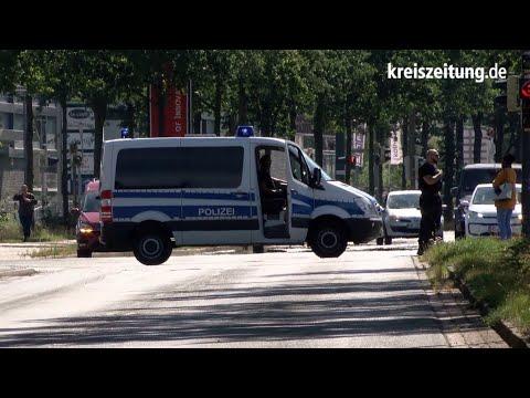 Polizei-Einsatz in Bremen: Mann verschanzt sich auf Dach der Universität