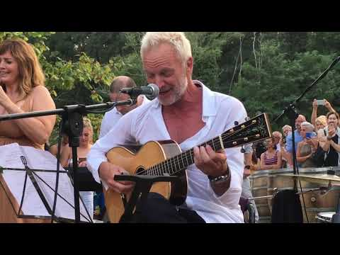 """Sting – Every Breath you Take (""""Privat Konzert"""")"""
