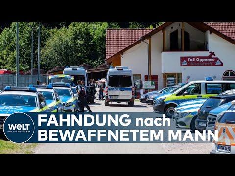 GROßFAHNDUNG in OPPENAU: Hunderte Polizisten suchen nach Bewaffnetem in Tarnkleidung
