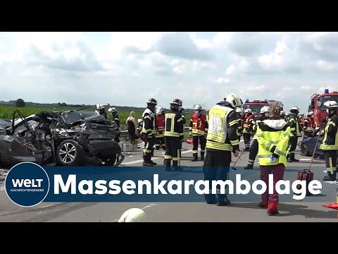 SCHWERER UNFALL: Ein Toter nach Unfall auf der A31 bei Leer
