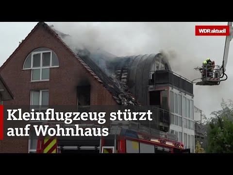 Wesel: Drei Tote bei Flugzeug-Absturz