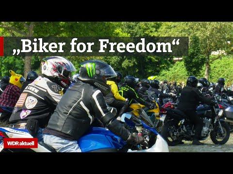 1000 Biker machen Krach gegen Fahrverbote