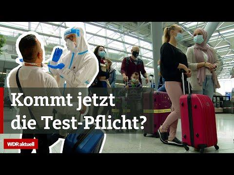 Verunsicherte Urlauber: Corona-Tests an NRW-Flughäfen